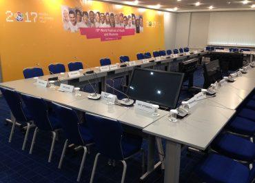 Заседание Международного организационного комитета XIX ВФМС